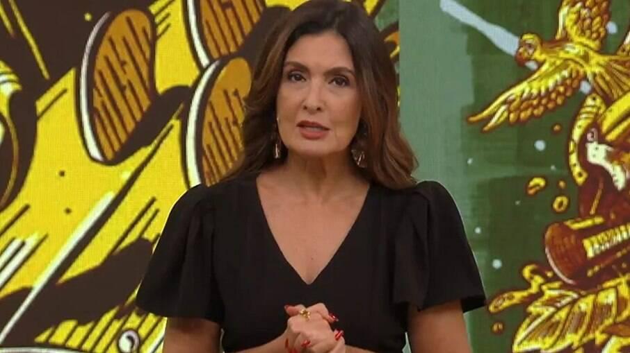 Fátima Bernardes criticou Bolsonaro