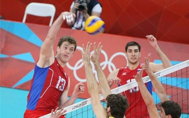 Rússia, do gigante Dmitriy Muserskiy, foi campeã em Londres e volta como potência nos Jogos do Rio