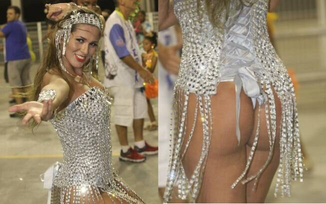 Livia Andrade mostrou boa forma