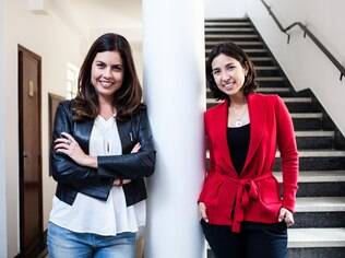 Patrícia e Ana lançaram livro com histórias reais de mães empreendedoras