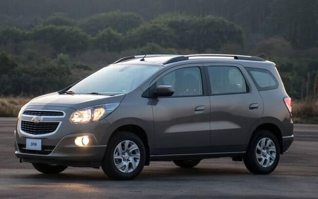 Chevrolet Spin Sobrevivente Racional Das Minivans De 7 Lugares