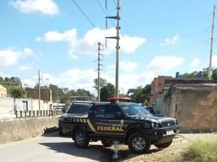 Polícia Militar precisou de ser acionada para dar apoio aos policiais federais atacados