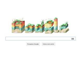 Logotipo especial criado pelo Google