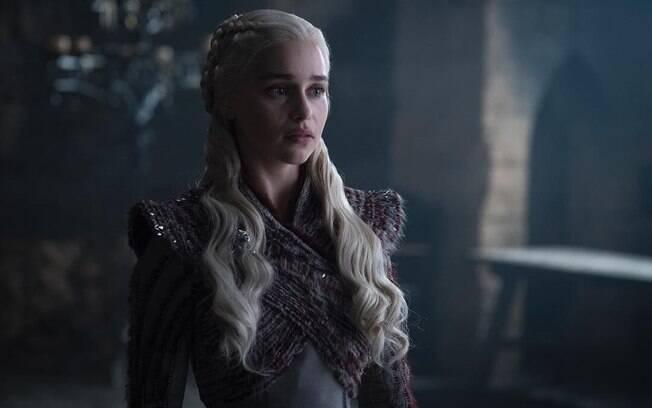 Daenerys Targaryen (Emilia Clarke) estrela algumas das imagens divulgadas da última temporada de