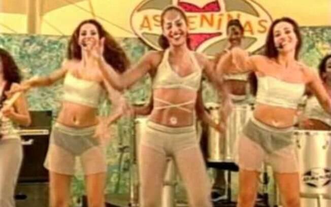 Carla Cristina e as integrantes de As Meninas