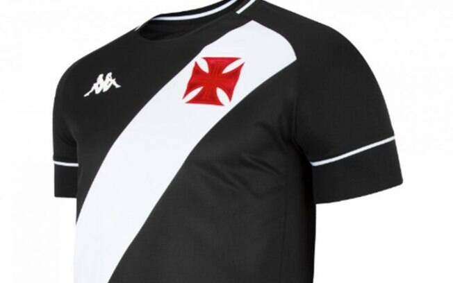 Camisa vazada do Vasco