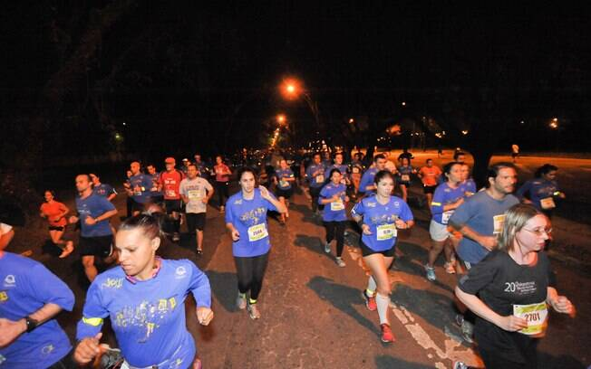 Night Run Special Edition teve percursos de 5  e de 10 km