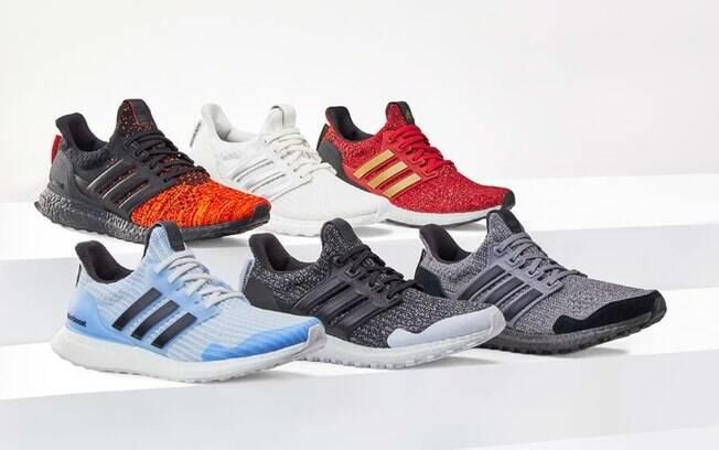 Adidas lança coleção cápsula do modelo Ultraboost inspirada em Game of Thrones