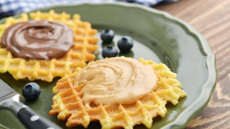Waffles com manteiga de amendoim: saiba como fazer essa receita fácil