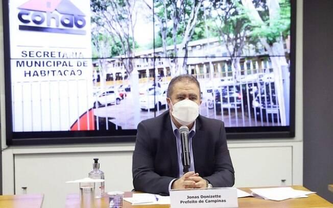 Anúncio foi feito pelo prefeito de Campinas.