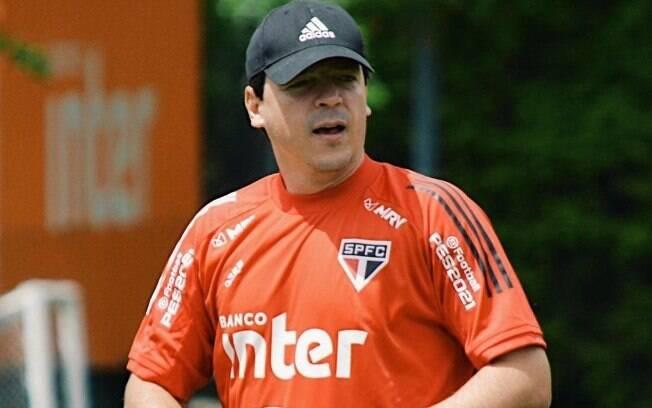 São Paulo treina