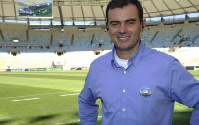 Tino Marcos está de volta ao trabalho na Globo