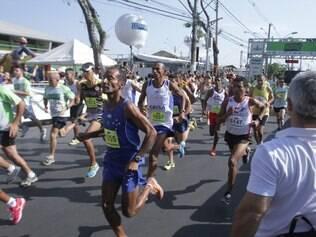 Cerca de 1.200 corredores participaram da segunda edição da corrida Betim Run Up na manhã de ontem