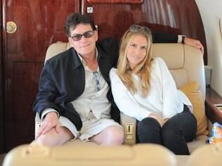 Charlie Sheen e Brooke Mueller