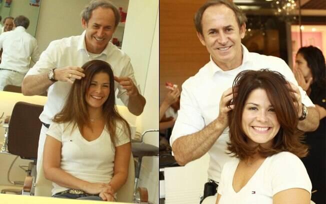 Samara Felippo: antes e depois