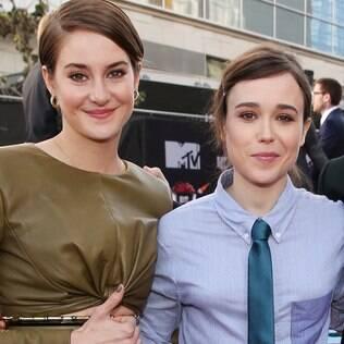 Se o namoro for confirmado, Shailene e Ellen formarão um dos casais mais belos de Hollywood