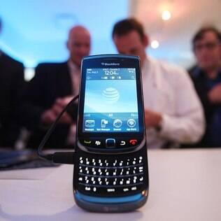 Torch 9800: o primeiro BlackBerry com tela sensível ao toque