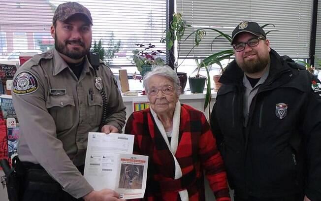 Aos 104 anos, Florence é a pessoa mais velha a obter licença no estado norte-americano