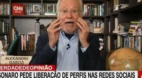 Desmentido ao vivo, Alexandre Garcia é demitido da CNN Brasil