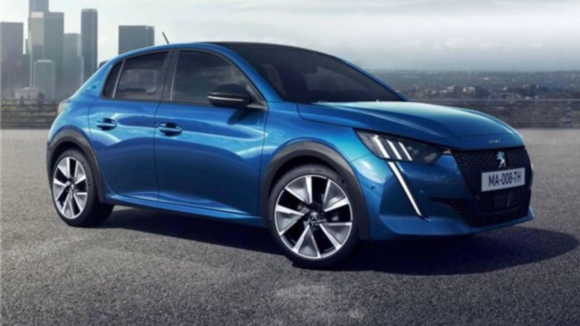 Resultado de imagem para Peugeot 208 EV