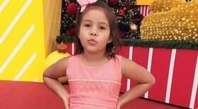 Menina de 8 anos fica em estado grave após ser esmagada por placa de concreto