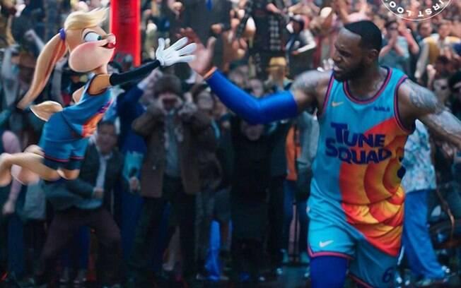 LeBron James divulga imagens do novo filme do 'Space Jam: Um Novo Legado'