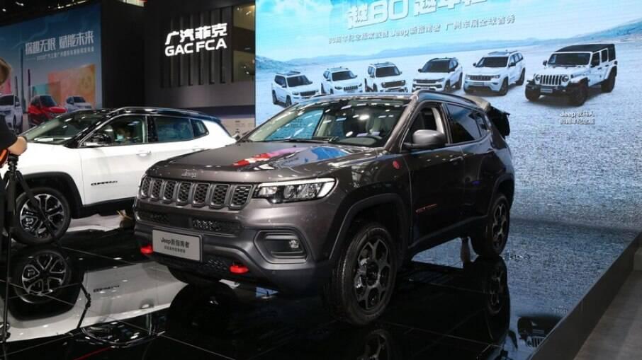 Novo Jeep Compass: terá novos detalhes estéticos, nova central multimídia e opção de motor 1.3 turbo flex