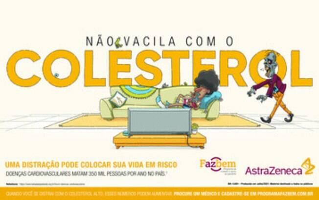 Colesterol alto entre jovens é alvo de campanha sobre prevenção e cuidados com a saúde cardiovascular