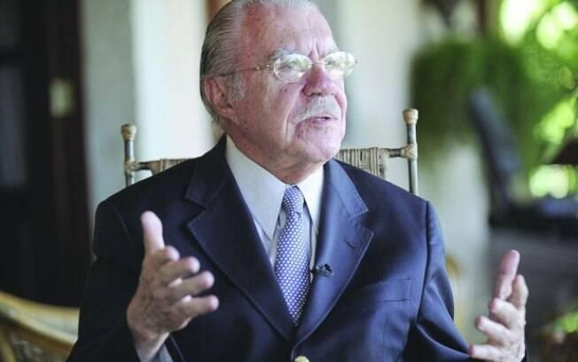 José Sarney quando presidente da República também viveu desentendimentos com o  governo francês