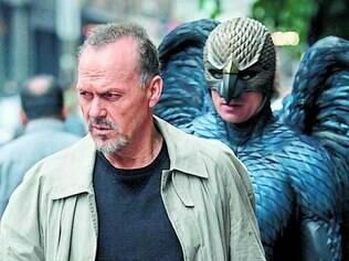 Michael Keaton em Birdman, um dos filmes favoritos