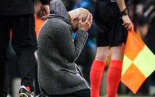 Com eliminação do City, Guardiola aumenta jejum de finais na Champions