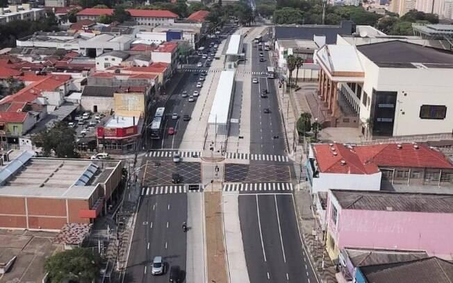 Prefeitura libera trecho inicial do BRT Ouro Verde