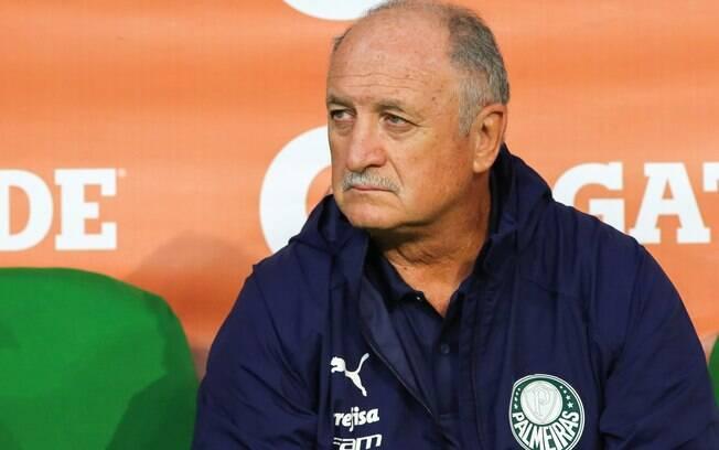 Felipão foi demitido pelo Palmeiras neste ano