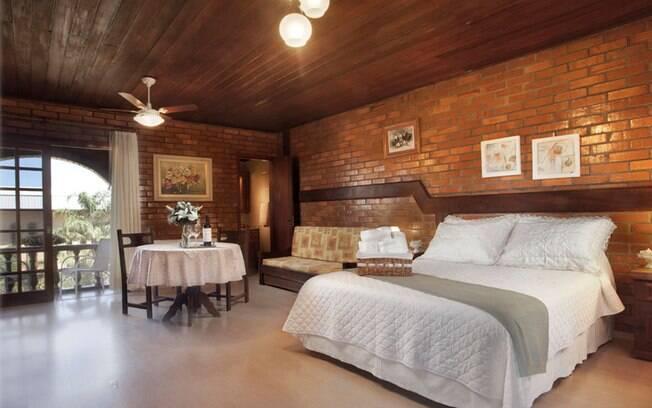 Vinte e quatro suítes oferecem conforto total para quem se hospeda na Villa Valduga, em Bento Gonçalves. Foto: Divulgação