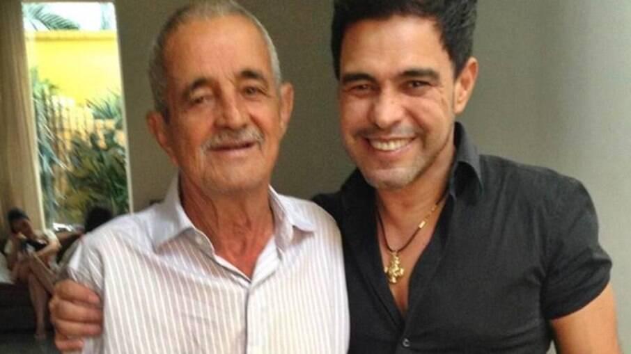 Zezé Di Camargo passa primeiro dia dos pais sem Seu Francisco