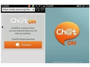 Samsung ChatOn foi lançado em outubro do ano passado