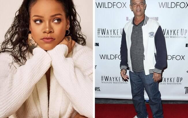 Rihanna e seu pai, Ronald Fenty