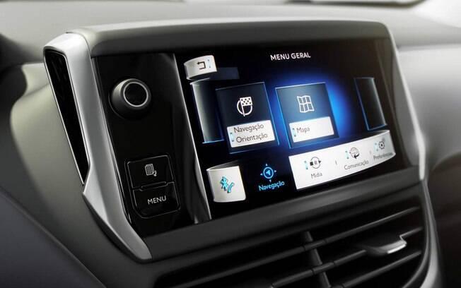 Centra multimídia da Peugeot recebeu novo sistema bem mais eficiente na linha 2016