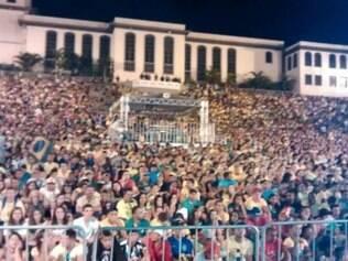 Mais de 4 mil pessoas assistiram a classificação da seleção brasileira em Contagem