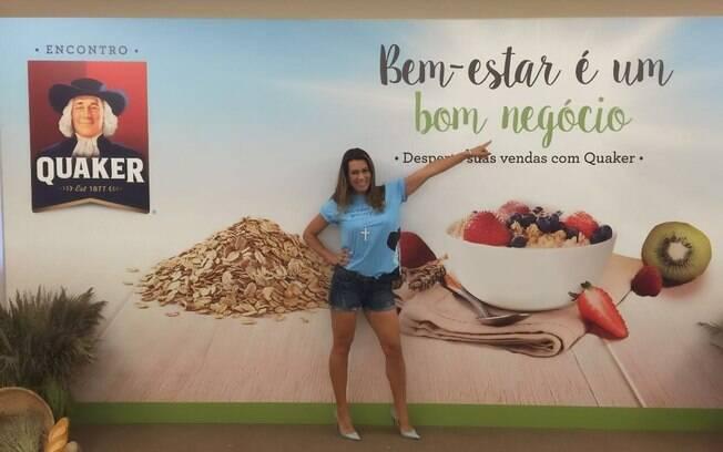 Solange Frazão fez trabalhos como garota-propaganda de várias marcas