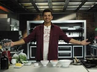 Guga Rocha acumula as funções de chef, apresentador de TV, pesquisador e escritor