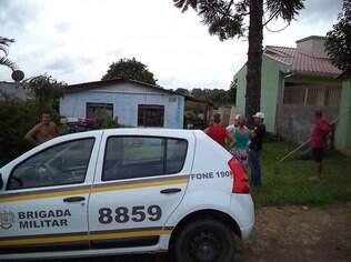 Brigada Militar foi acionada por vizinhos que desconfiaram do desaparecimento da mulher