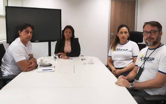 Reunião em que secretária de Segurança Pública, Sheila Freitas, apresentou proposta do governador Robinson Faria para sindicatos terminou em impasse
