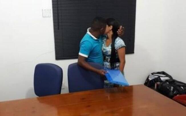 O casal, que não teve o nome divulgado, decidiu reatar a relação durante uma audiência