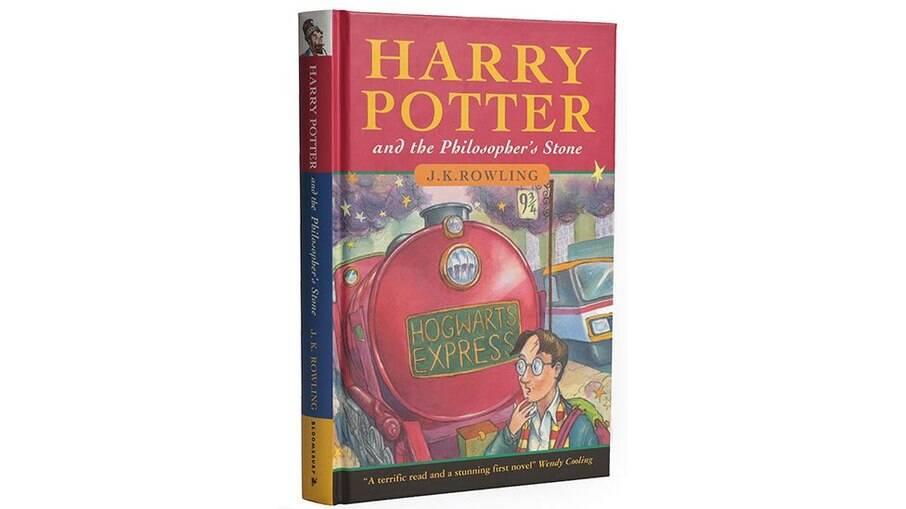 Edição rara de Harry Potter