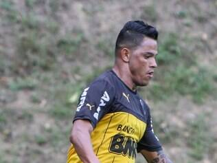Giovanni Augusto vinha se destacando nos treinamentos da pré-temporada