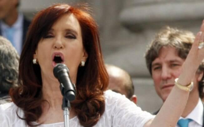 Cristina Kirchner em abril do ano passado: discursos sobre atentado cessaram nos últimos anos