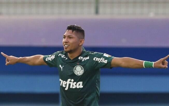 Rony marcou o primeiro gol do Palmeiras contra o River Plate