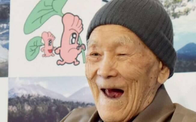 Masako Nonaka foi declarado nesta terça-feira o homem mais velho do mundo; saiba o segredo dos japoneses