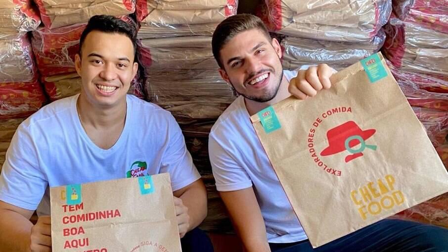 Amigos criam a primeira startup brasileira para evitar desperdício de comida